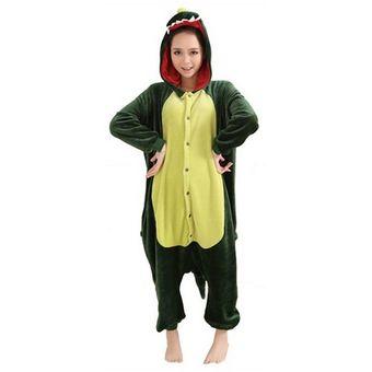 Dinosaurio De La Franela De Los Pijamas Del Traje De Cosplay Del Anime - S 4c2b2e20e0e0