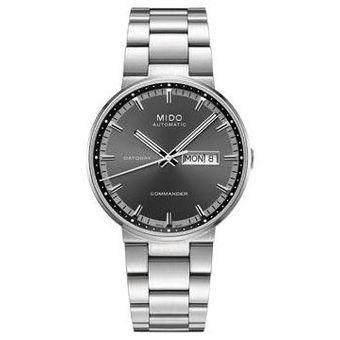 0278d3d21c86 Compra Reloj Mido Commander II Caballero M014430116-Plateado online ...