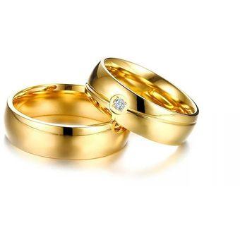 0d893882a5a4 Aros De Matrimonio. Hombre. JOYAS LUCYANA. Enchapados En Oro Amarillo 18K