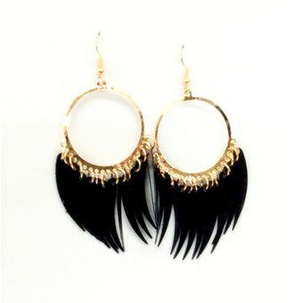 c5130e05e0a6 Compra Aretes WOW Dorado Negro online