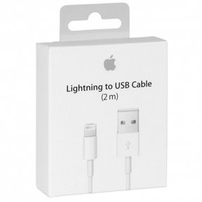 ccf4fe2a415 Cable Apple 2 Metros iPhone Lightning Original 6 6s 7 8 X Xs