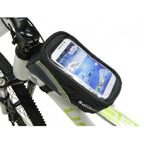 0787be696f4 Estuche Alforja Porta Celular Pequeño Para Bicicleta - Negro