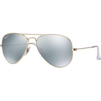 253d30ce9f ... low price agotado lentes de sol ray ban aviator rb3025 112 w3 dorado  lente polarizado d3e9f