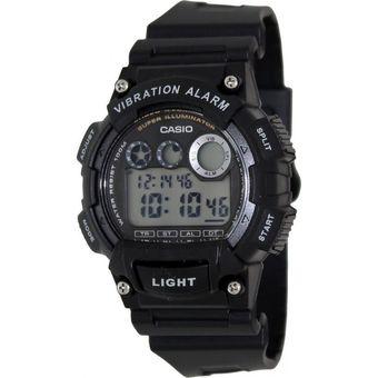 d0cfa62cc796 Compra Reloj Casio Hombre Deportivo Modelo W735H-1AVDF - Negro ...