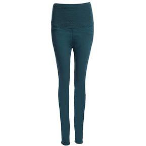 bbbc3ef2b Pantalones de las mujeres embarazadas de la mezcla (Verde)