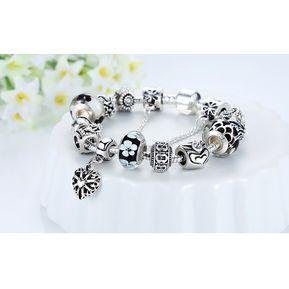644c869f567d Diamante De Cristal Pulsera De Cuentas De Vidrio