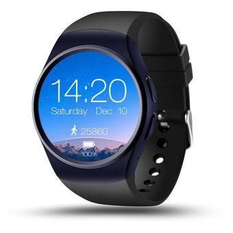LEMFO LF18 Smartwatch SIM Card Monitor Ritmo Cardiaco Negro Azul