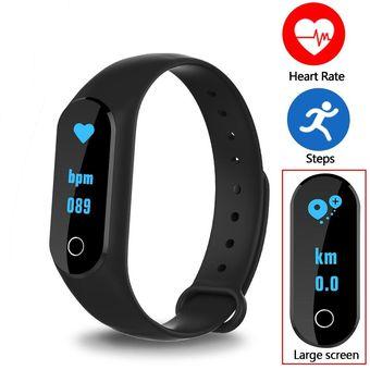 estilo limitado distribuidor mayorista grandes ofertas 2017 Reloj Smartwatch, Shuua M6S Smartband Impermeable Anti-perdida Reloj  Inteligente Compatible Con Iphone Y Android - Negro