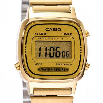 bce619818d39 Compra Reloj Dama Casio Vintage LA670WG Dorado online