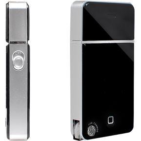 Hombres Afeitadora Eléctrica USB-recargable Portátil De Viaje - Negro bd93822a4c0f