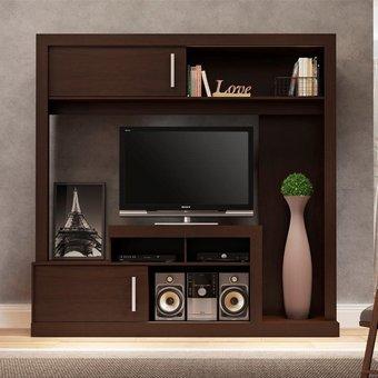 Compra centro de entretenimiento bertolini 1305 chocolate para pantalla hasta 55 online - Muebles para televisores pantalla plana ...