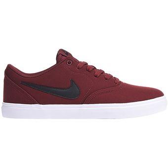 Compra Tenis Skate Hombre Nike SB Check Solar Canvas-Rojo online ... 3d4bfb8cf03