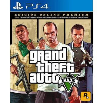 Videojuego Grand Theft Auto V PlayStation 4