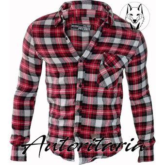 a70827d101 Agotado Camisa Leñadora Slim Fit Para Hombre