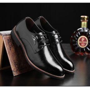 090e475d Bien Fresco De Gran Tamaño Empresarial Verano Boda Suave Oficina Cuero Zapatos  Hombres De Marca -