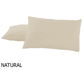 Funda De Almohada 50×70 Percal NATURAL