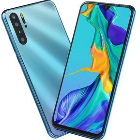 17bc59e0018 6.3 〞P30 Smartphone 4GB + 64GB octa cores Android8.0-azul