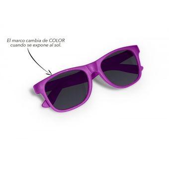a0b102610d Kit x 2 Lentes Gafas Mask Color Deportivos Cambio de Color al Sol - Morado