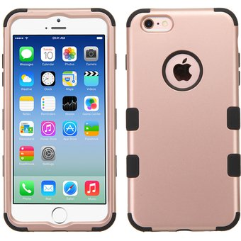 cfb7cd64f63 Agotado Funda Doble Protector Case Uso Rudo para iPhone 6s PLUS / iPhone 6  PLUS - Rose