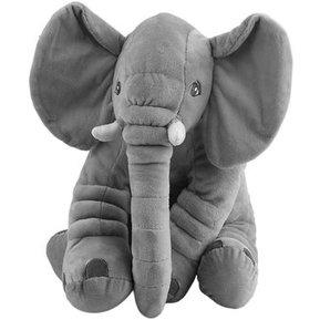 1b38ae222 Almohada Suave De Bebe Para Dormir Peluche De Elefante-Gris 28 * 33cm