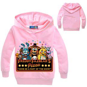 33126fb507385 Five Nights At Freddy s Sudadera Para Niños Con Estampados De Dibujos - Rosa