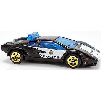 Compra Auto Policia Lamborghini Countach Police Car Hot Wheels Fyc79