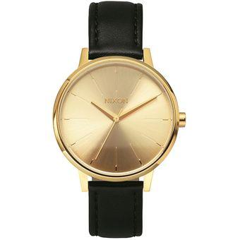 Reloj Nixon Kensington Leather Gold