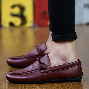 Linio Outfit Para Colombia Mocasines Hombre Zapatos Compra Rojo Online 6R04w4
