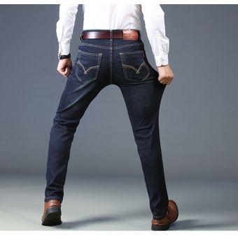 Pantalones Vaqueros Rectos De Talla Grande Para Hombre Jeans Clasicos Linio Chile Ge657fa19ilbalacl