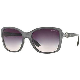 3b794a954e Compra Gafas VOGUE VO2832 SB226536 57 Gris Femenino online   Linio ...