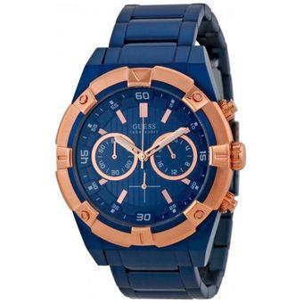 Compra Reloj GUESS Jolt Cronografo W0377G4 Azul Para Hombre online ... 6738f558a51f
