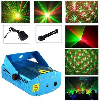 6de6b303986 Agotado Proyector De Luces Láser 3d Figuras Show de Navidad Audioritmico  Led Luz Encendido