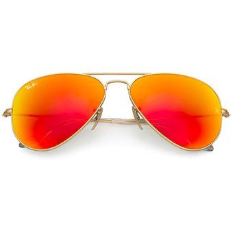 276c438d70 Compra Ray Ban 3025 112/69 Aviador Marco Dorado Lente Naranja Espejo ...