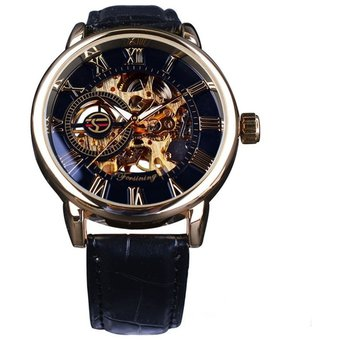 efbb801e3 Compra Reloj Hombre de Lujo Mecánico Automático Esquelético Correa ...