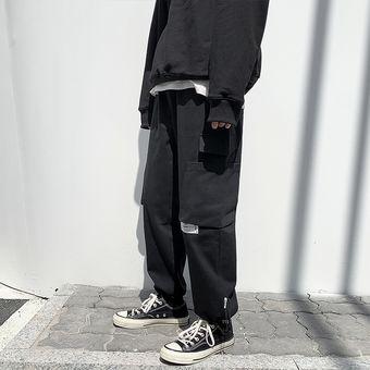Pantalones Tipo Cargo Pantalones Casuales Negro Linio Peru Ge582fa1f0x25lpe