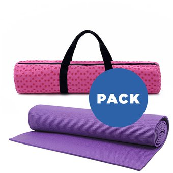 Compra Mat de Yoga 4 mm + Bolso Antideslizante Patitas online ... 0d10e7b8f0f1