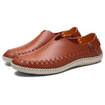 Zapatos De Causal Hombre Mocasines Verano Conducción L3jA45Rcq