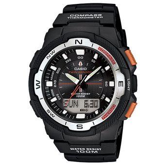 7c302b11be37 Compra Reloj Casio Outgear SGW500 Caucho Naranja Brújula Termómetro ...