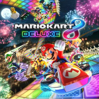 Compra Video Juego Mario Kart 8 Deluxe Para Nintendo Switch Online