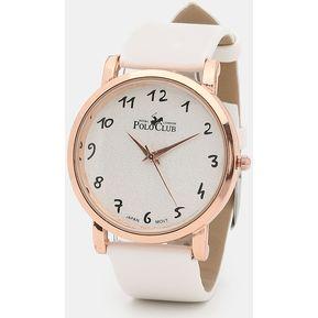 7b0c81536865 Reloj Para Dama Mano Polo Club Mujer RLPC 2918 C - Blanco