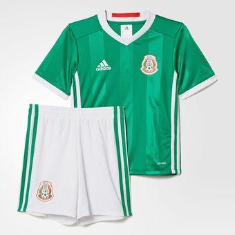 Compra Kit Jersey Y Shorts De La Seleccion De Mexico Para Niño Bebe ... b38aafcf9e800