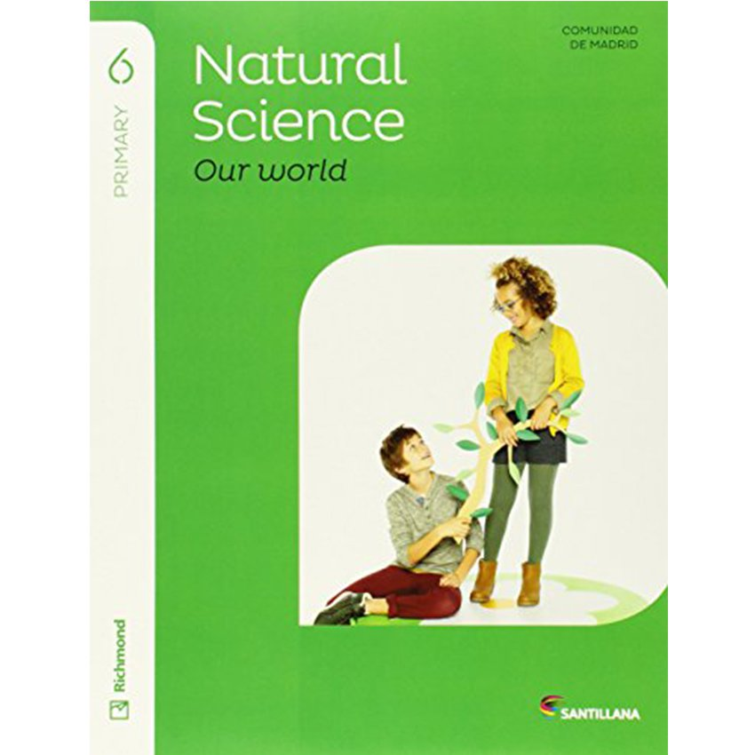 6Pri Natural & Social «My World» Std'S Pack