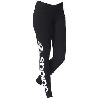 c6c2fdcc09b85 Compra Pantalon Licra Adidas Mujer Correr Negro Linear online ...