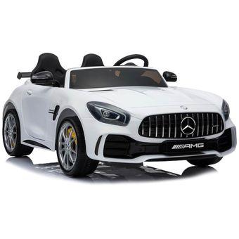 Auto Mercedes Benz Amg Gtr Eléctrico - Blanco