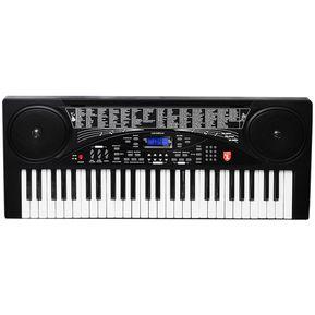 75b210a4d4b1d Teclado Musical 100 Funciones Boton De Grabacion Es Ultra Fantastico
