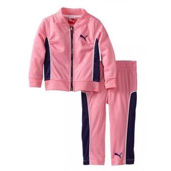 5f7c0149d71 Compra PUMA - conjunto para bebe casaca y pantalon PUMA - rosado ...