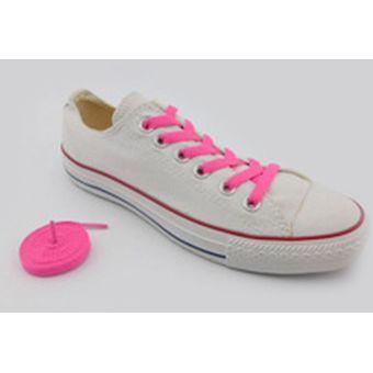 2x Cordones De Zapatillas Par Colores Calzado Ropa Moda Deporte Cordon Morado