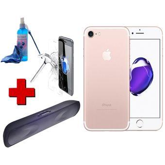 02672e3cb72 Compra Celular IPhone 7 32GB Rosa + Vidrio + Parlante De Obsequios ...