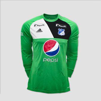 Compra Buzo De Arquero Millonarios Adidas Assita 17 GK AZ5400 online ... 6a1a89aade1fd