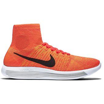 Compra Tenis Deportivos Hombre Nike Flyknit Lunar Epic -Naranja ... 33ab2b56fe0